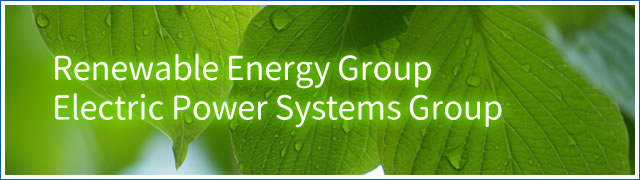 Renewable Energy Group and Electric Power Systems Group